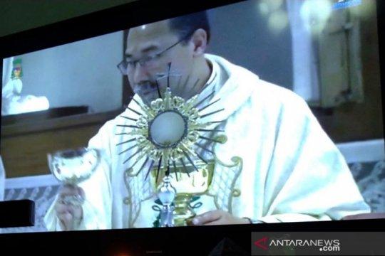 Uskup Semarang bangga umat makin tekun beribadah di tengah pandemi