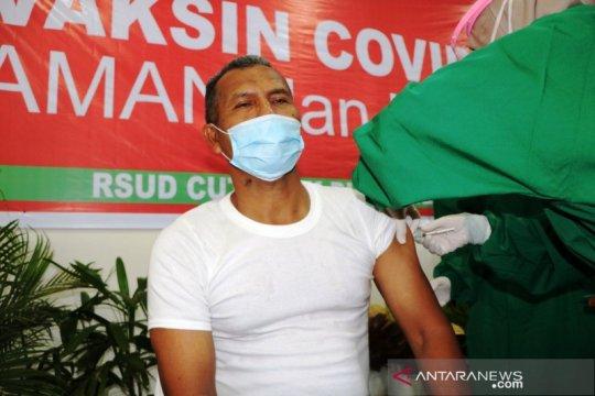 Sebanyak 1.107 tenaga kesehatan di Aceh Barat sudah divaksin