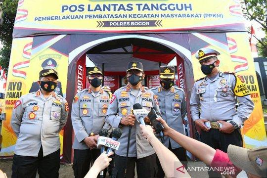 Kakorlantas pastikan arus kendaraan libur Imlek daerah Puncak lancar