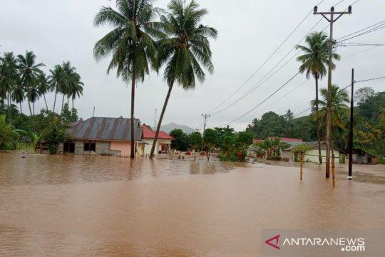 Banjir rendam tiga desa di Tomilito Gorontalo Utara