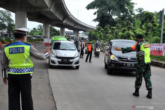 Sanksi denda pelanggar ganjil genap Kota Bogor