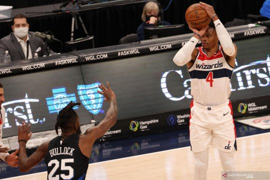 Russell Westbrook bawa Wizards taklukkan Pacers