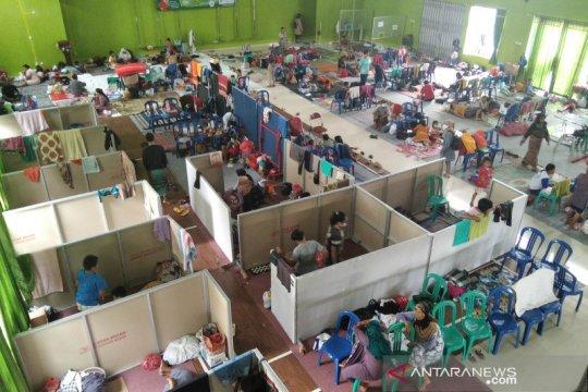 Jumlah pengungsi akibat banjir di Kudus mulai berkurang