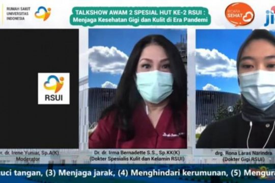 Dokter RSUI beri tips tangani 'mask acne'