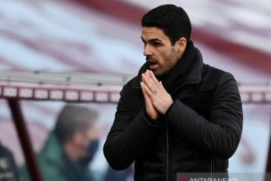 Mikel Arteta desak Arsenal tidak lakukan kesalahan lagi