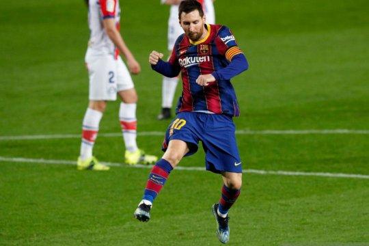 Koeman klaim Messi bersemangat dan bahagia di Barcelona