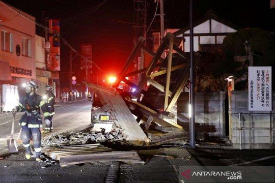 Gempa bumi goncang Prefektur Fukushima Jepang