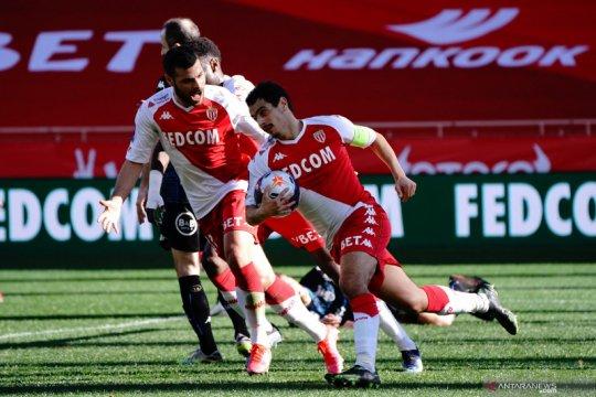 Gol menit akhir Wissam Ben Yedder selamatkan Monaco dari kekalahan