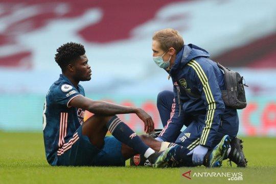 Arteta beberkan rasa frustrasi Thomas Partey yang cedera lagi