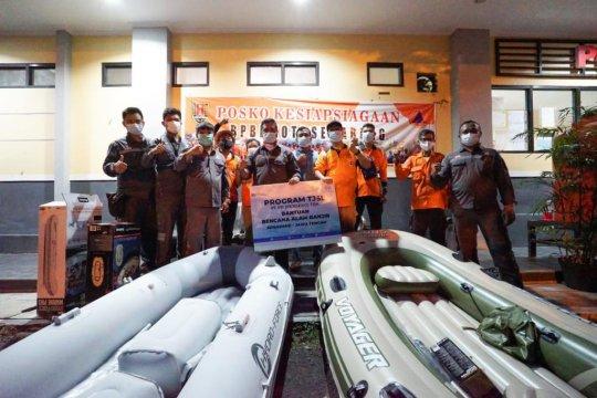 PP berikan bantuan untuk korban banjir di Jateng