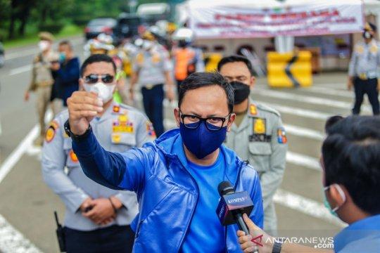 Ganjil-genap di Kota Bogor berdampak turunkan kasus positif COVID-19