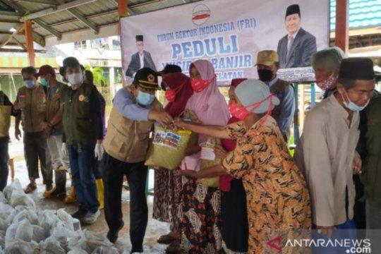 Dihimpun dari Forum Rektor, ULM bantu warga Kurau terdampak banjir
