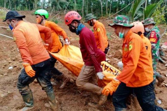 Tim SAR gabungan temukan korban ketiga longsor di Kebumen