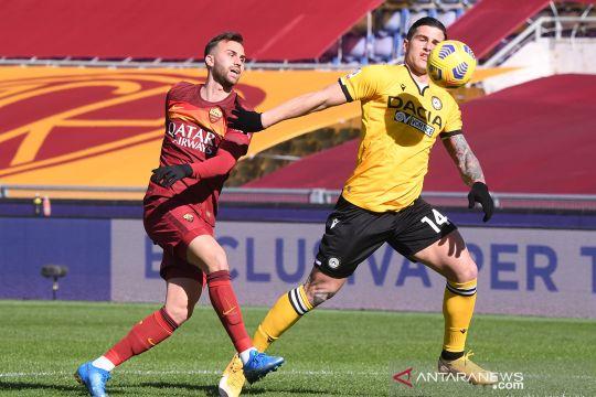 Liga Italia: AS Roma kalahkan Udinese 3-0