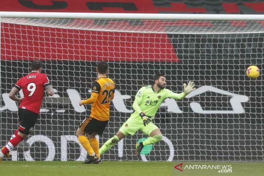 Liga Inggris: Wolverhampton Wanderers tundukkan Southampton 2-1