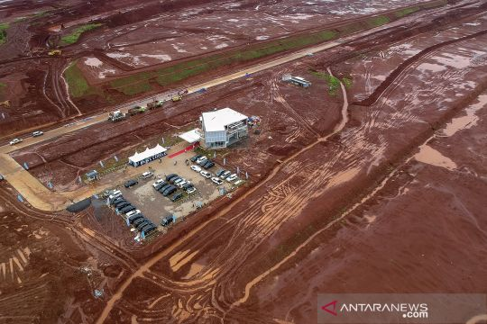 Progres pembangunan Kawasan Industri Terpadu Batang