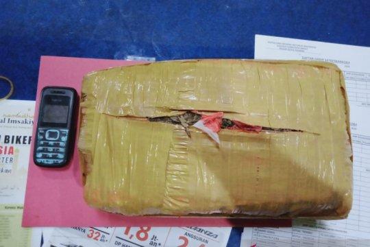 Polresta Padang sita satu kilogram ganja dari tangan pengedar