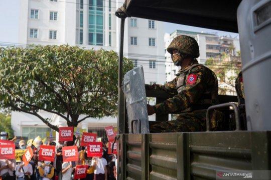 Menlu G7 kutuk kekerasan terhadap pengunjuk rasa Myanmar