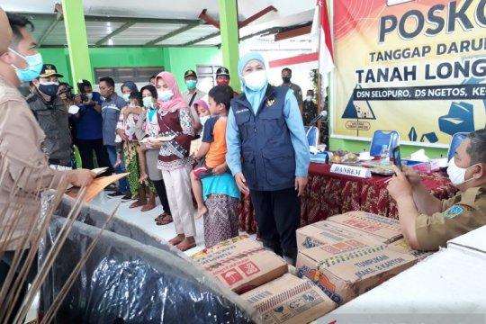 Pemprov Jatim kirim bantuan korban tanah longsor di Nganjuk
