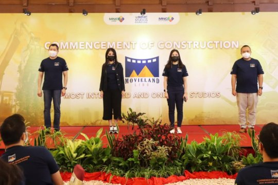 Kemenparekraf harap pembangunan Movieland dorong industri kreatif