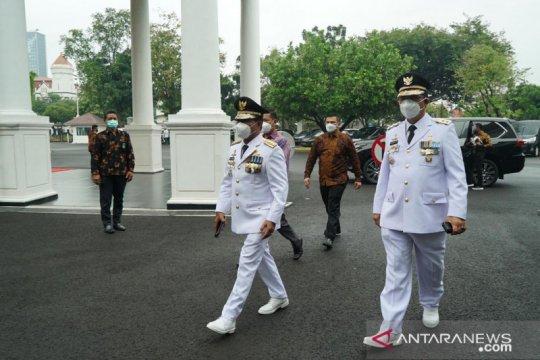Presiden Jokowi lantik Gubernur-Wagub Kalimantan Utara 2021-2024
