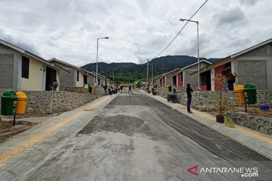 108 korban gempa Palu mulai tempati huntap dibangun PUPR