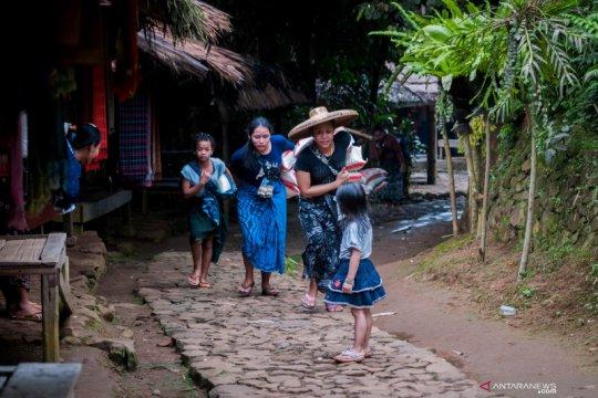 Ritual Kawalu dimulai, warga Baduy tutup Saba Budaya untuk sementara