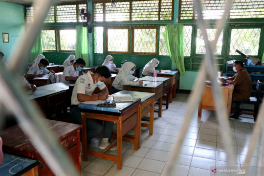 Seluruh sekolah di Bengkulu sudah gelar pembelajaran tatap muka