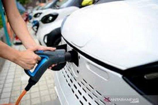Pemerintah bangun 122 stasiun isi daya kendaraan listrik hingga April
