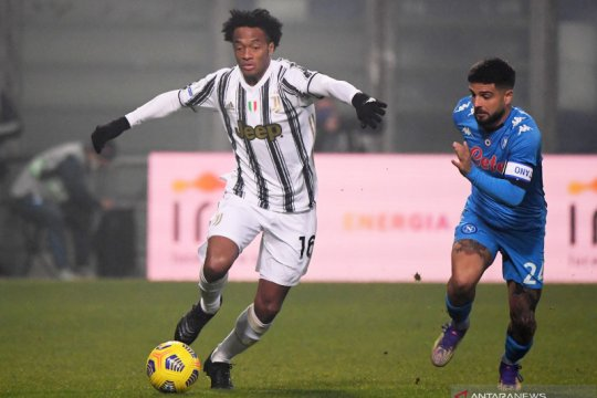 Alami cedera hamstring, Cuadrado bakal absen di tiga laga Juventus
