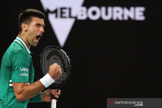 Djokovic habiskan 3,5 jam atasi Zverev menuju semifinal