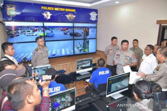 Polres Bekasi optimalkan penegakan hukum berbasis elektronik