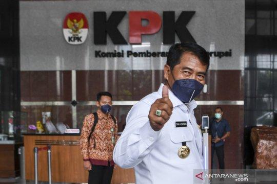 Gubernur Kalimantan Utara audiensi dengan KPK