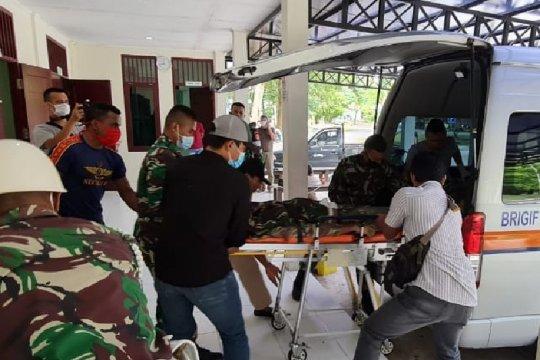 Jenazah anggota Yonif 400/BR diterbangkan ke  Jakarta