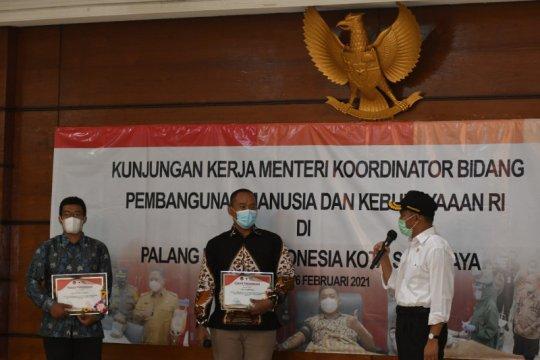 Muhadjir apresiasi warga Surabaya 10 kali donorkan plasma