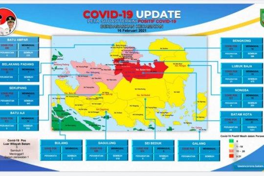 Tinggal dua kecamatan zona merah di Batam