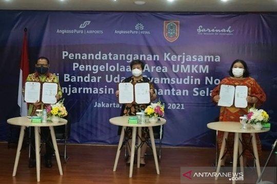 Angkasa Pura Retail dan Sarinah dukung pengembangan UMKM Kalsel