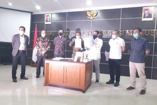 Komnas HAM serahkan barang bukti kasus Laskar FPI ke Bareskrim