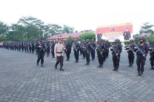 100 personil Brimob Polda Jambi di BKO jaga keamanan di Papua