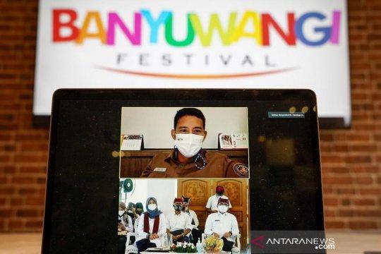 Menparekraf dukung Banyuwangi Festival 2021 wujudkan Kampanye BWI