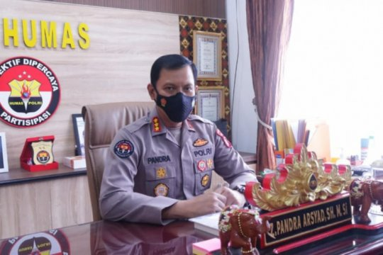 Polda Lampung menemukan limbah medis di TPA Bakung