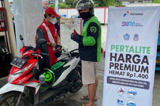 Pertamina Manado siapkan 15 SPBU jual pertalite harga khusus