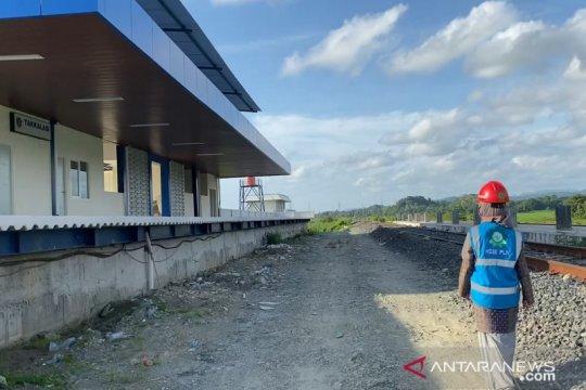 PLN pasok listrik pembangunan jalur kereta api trans Sulawesi