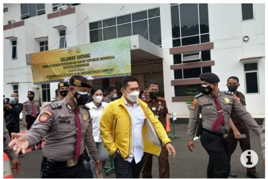 Komisi III DPR minta Kejati Lampung tindak pelaku penyelewengan bansos