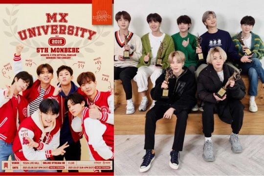 MONSTA X akan gelar temu penggemar lalu lagu BTS untuk film Jepang