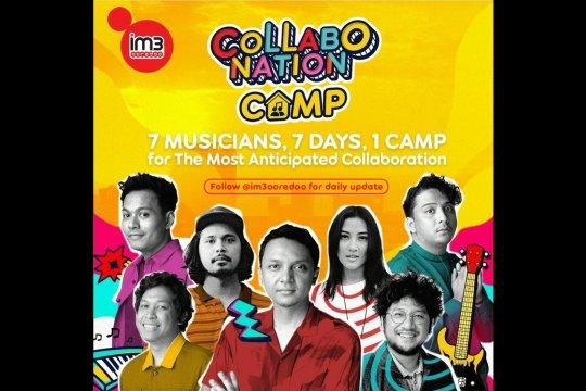 Tujuh musisi berbagi cerita karantina musik di Collabonation Camp
