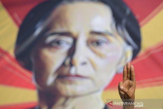 Otoritas Myanmar buka kasus korupsi baru terhadap Suu Kyi