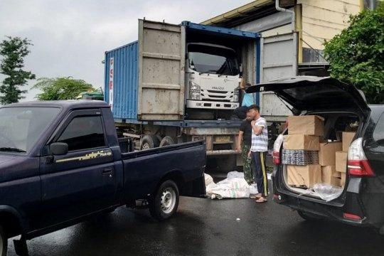 Bea Cukai ungkap rokok ilegal diangkut truk kontainer hingga Lamongan