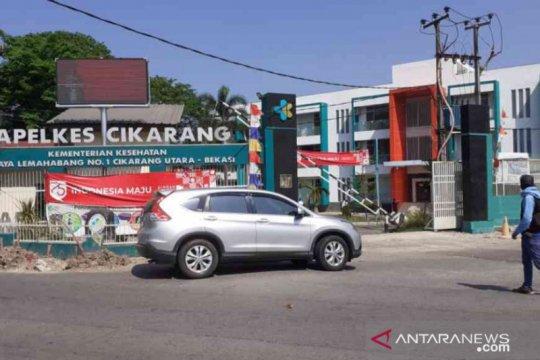 Keterisian hotel isolasi COVID-19 Bekasi capai 72 pasien