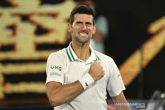 Djokovic sebut bermain di Beograde lebih emosional